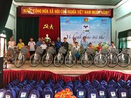 Tour lưu diễn của Quỹ Hỗ Trợ Giáo Dục Nam Trường Sơn tại 4 tỉnh miền Trung