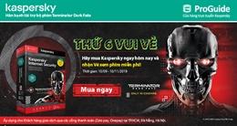 Thứ Sáu Vui Vẻ, mua Kaspersky nhận vé xem phim cực chất