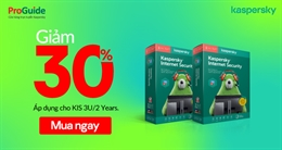 Mừng ngày Phụ Nữ Việt Nam Kaspersky giảm giá đến 30%