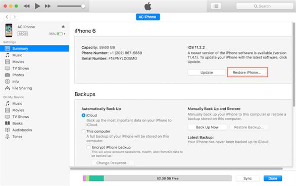 Làm gì khi điện thoại iPhone hoặc máy tính bảng iPad gặp vấn đề? Chúng ta có thể chọn cách phục hồi điện thoại và máy tính bảng thông qua bản sao lưu trên iCloud hoặc iTunes.