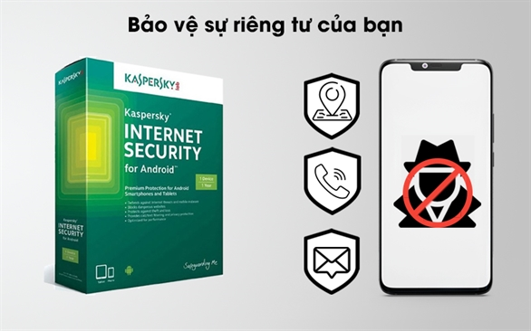 Kaspersky Mobile   Diệt virus cho điện thoại android