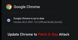 Hãy cập nhật bản vá lỗi mới nhất cho trình duyệt Chrome, tránh lỗ hổng Zero-day