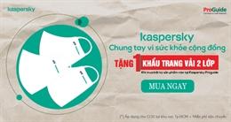 Kaspersky – Chung tay vì sức khỏe cộng đồng