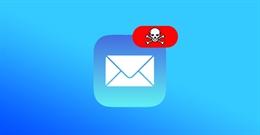 Cảnh báo : iPhone có thể bị hack chỉ bằng gửi email