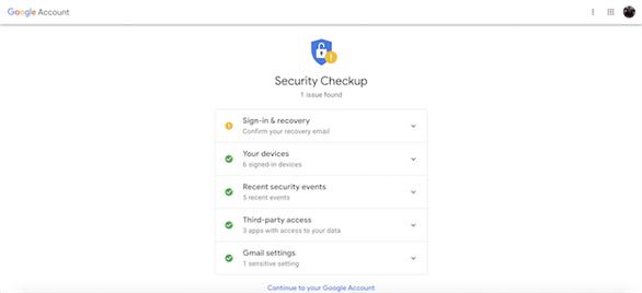 6 bước đơn giản giúp bảo mật tài khoản Gmail