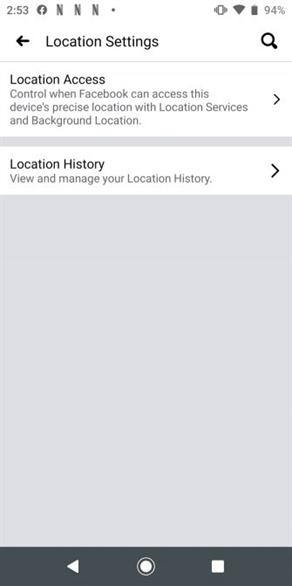 Cách xem và xóa lịch sử định vị của bạn trên Facebook