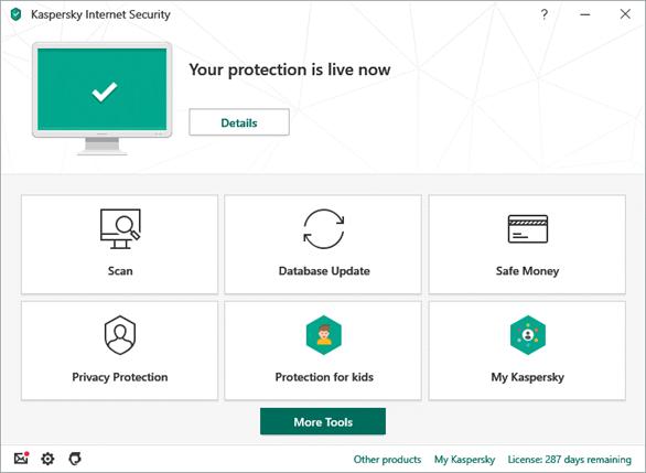 Hãng phần mềm bảo mật hàng đầu thế giới Kaspersky vừa tung ra thị trường phiên bản Kaspersky Internet Security 2020 với nhiều cải tiến đáng kể.