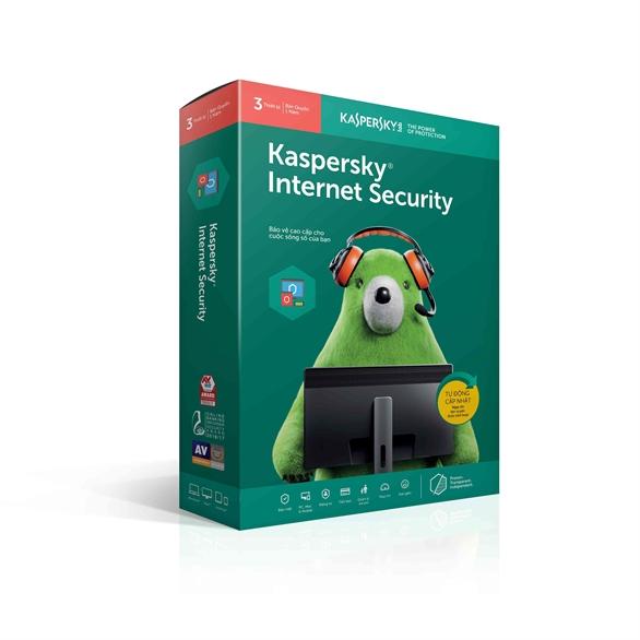 Kaspersky Internet Security cung cấp bảo vệ máy tính toàn diện chống lại nhiều mối đe dọa bảo mật thông tin, tấn công mạng và lừa đảo, và thư rác