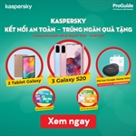 Kaspersky Internet Security for Android chỉ với 50.000 VND