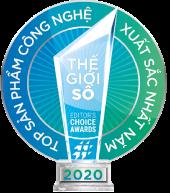 Editor's Choice 2020 Kaspersky Hạng mục: Thương hiệu phần mềm bảo mật tốt nhất