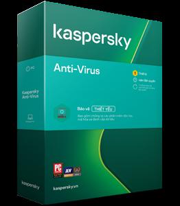 Kaspersky Anti-Virus - 1PC/Năm