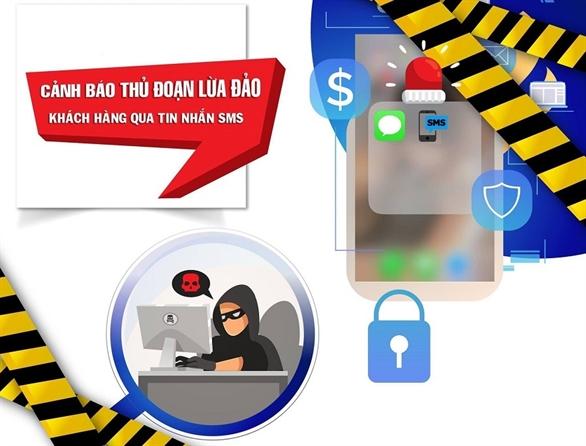 Hình thức lừa đảo xuất hiện cận Tết, nhắm vào tin nhắn thông báo dịch vụ ngân hàng