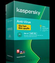 Kaspersky Anti-Virus Gia hạn - 1 PC / Năm