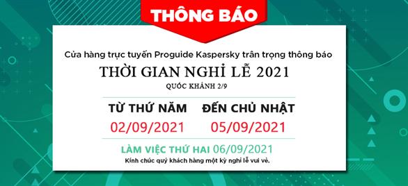 Thông báo nghỉ lễ Quốc Khánh 2021