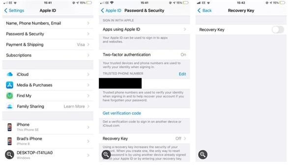 Cách thiết lập khóa khôi phục Apple (Recovery Key) trên iPhone, iPad hoặc Mac