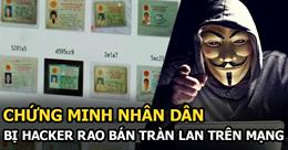 Hơn ba trăm ngàn thông tin người Việt Nam bị hacker rao bán trên diễn đàn ngầm