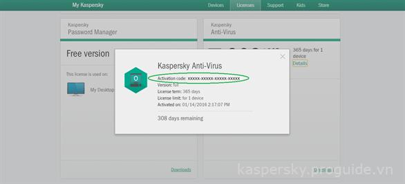 Phân biệt số bản quyền và mã kích hoạt của phần mềm Kaspersky